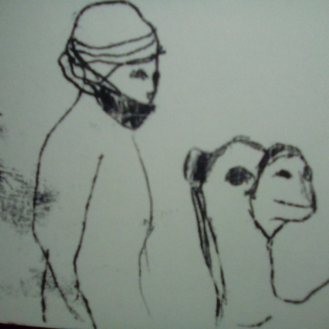 Camel Egypt storyboard